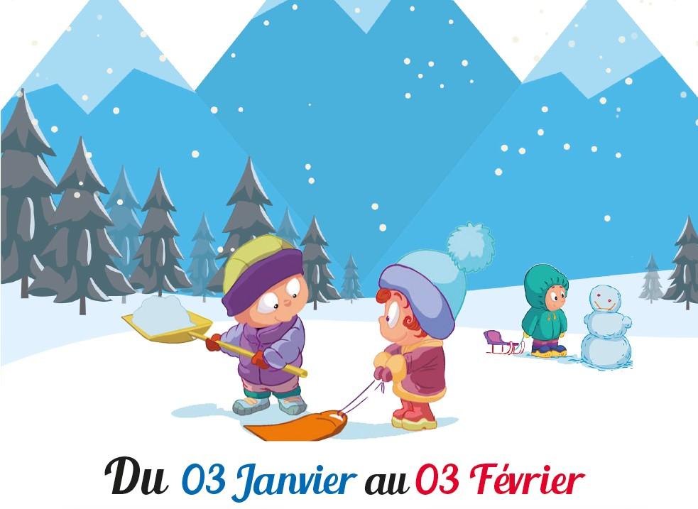 programme de la période 3 (Jan./Fev.)